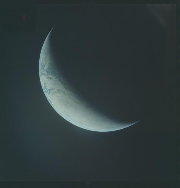AS04-01-550 - Apollo 4 - Apollo 4 Mission - Atlantic Ocean,coastal Brazil,West Africa and Antarctica