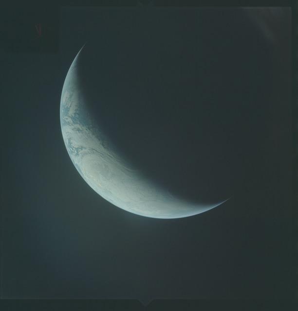 AS04-01-560 - Apollo 4 - Apollo 4 Mission - Atlantic Ocean,coastal Brazil,West Africa and Antarctica