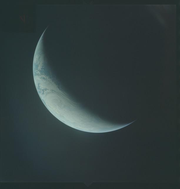 AS04-01-570 - Apollo 4 - Apollo 4 Mission - Atlantic Ocean,coastal Brazil,West Africa and Antarctica