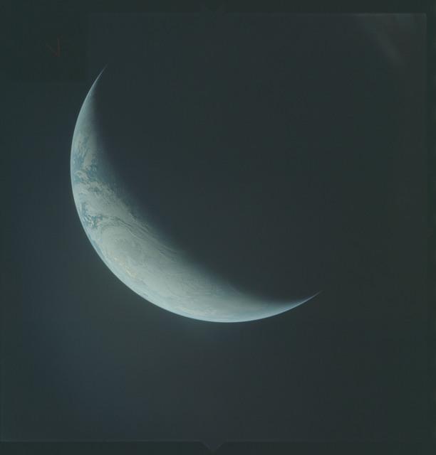 AS04-01-581 - Apollo 4 - Apollo 4 Mission - Atlantic Ocean,coastal Brazil,West Africa and Antarctica
