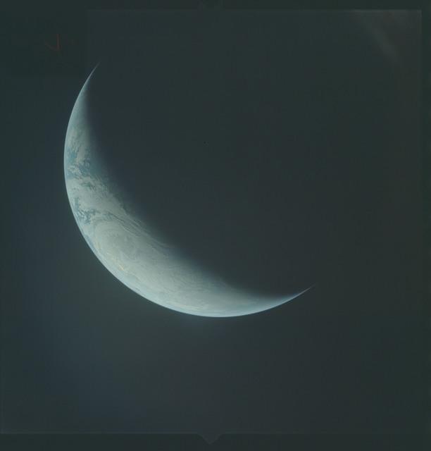 AS04-01-590 - Apollo 4 - Apollo 4 Mission - Atlantic Ocean,coastal Brazil,West Africa and Antarctica