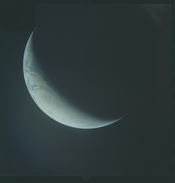AS04-01-600 - Apollo 4 - Apollo 4 Mission - Atlantic Ocean,coastal Brazil,West Africa and Antarctica
