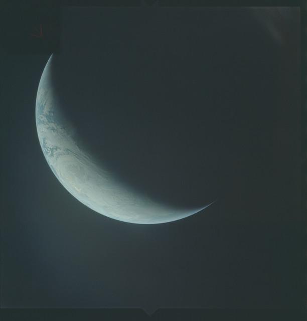 AS04-01-610 - Apollo 4 - Apollo 4 Mission - Atlantic Ocean,coastal Brazil,West Africa and Antarctica