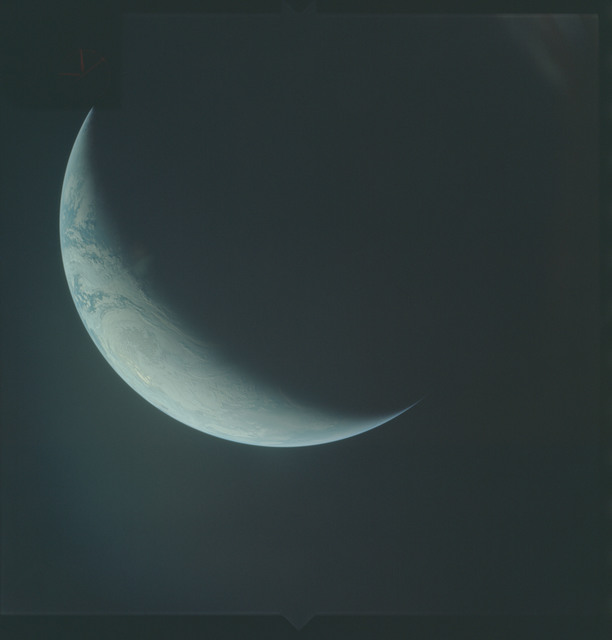 AS04-01-620 - Apollo 4 - Apollo 4 Mission - Atlantic Ocean,coastal Brazil,West Africa and Antarctica