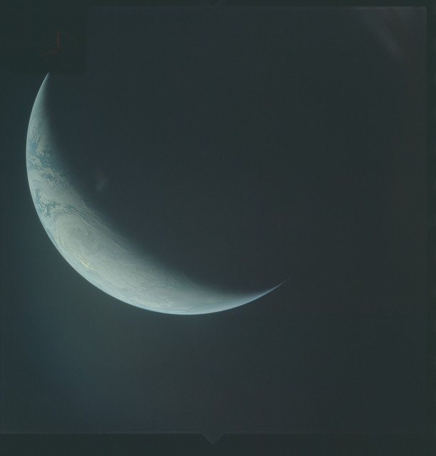 AS04-01-640 - Apollo 4 - Apollo 4 Mission - Atlantic Ocean,coastal Brazil,West Africa and Antarctica