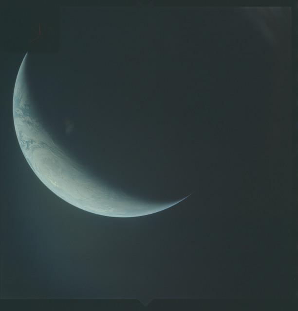 AS04-01-650 - Apollo 4 - Apollo 4 Mission - Atlantic Ocean,coastal Brazil,West Africa and Antarctica