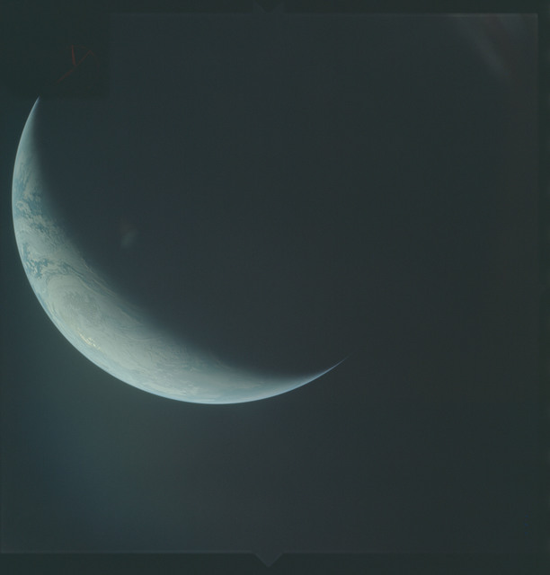 AS04-01-660 - Apollo 4 - Apollo 4 Mission - Atlantic Ocean,coastal Brazil,West Africa and Antarctica