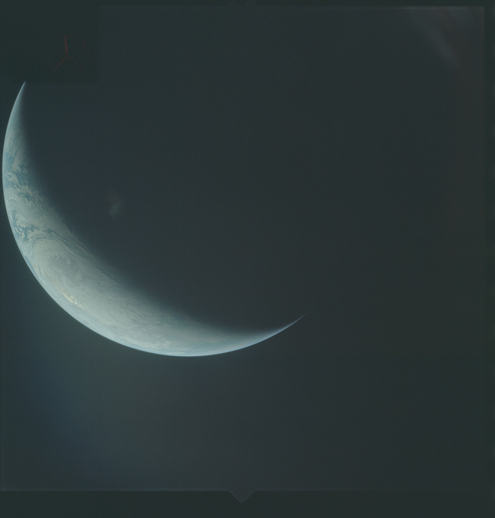 AS04-01-670 - Apollo 4 - Apollo 4 Mission - Atlantic Ocean,coastal Brazil,West Africa and Antarctica