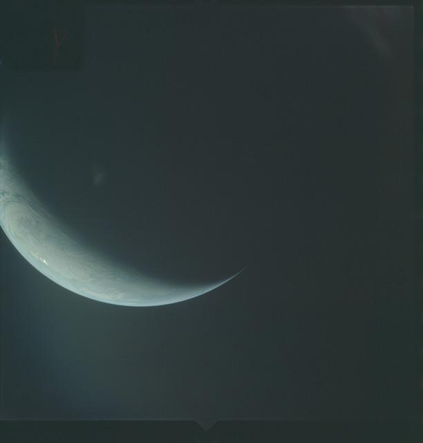 AS04-01-700 - Apollo 4 - Apollo 4 Mission - Atlantic Ocean,and Antarctica