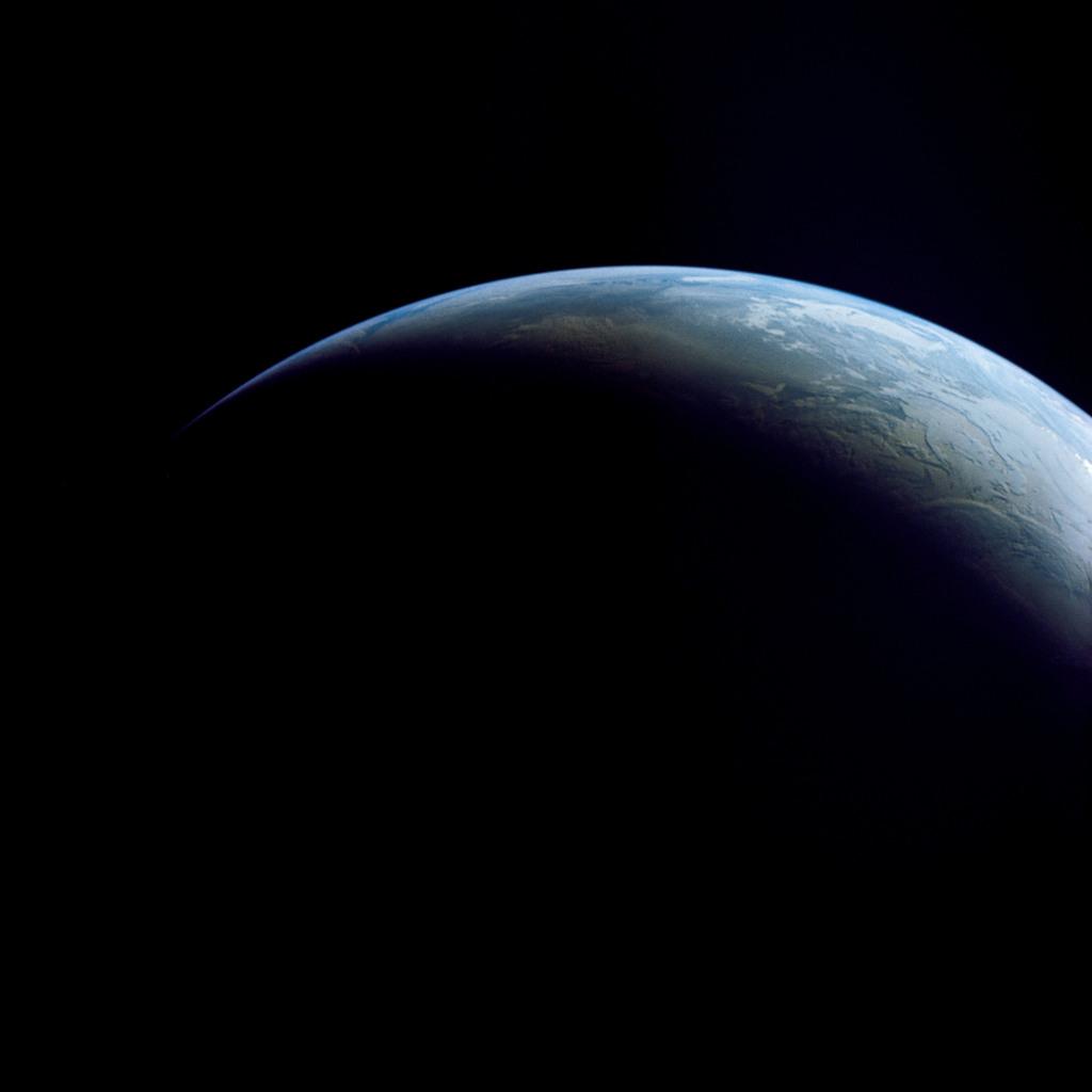 AS04-01-750 - Apollo 4 - Apollo 4 Mission - Atlantic Ocean,and Antarctica
