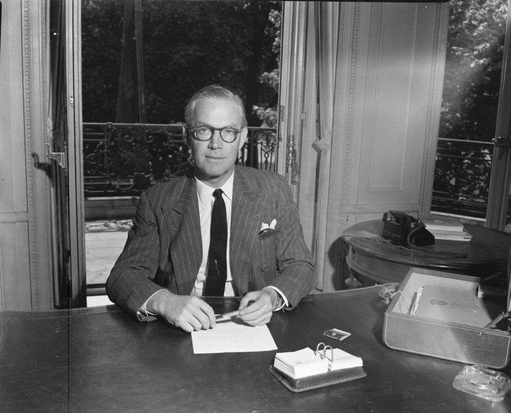 [Ambassador A. D. P. Hoony, Canadian Representative to the NATO Council]