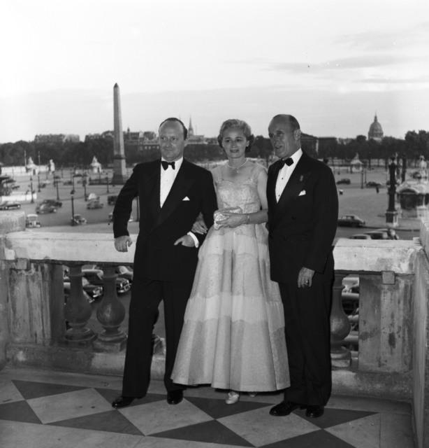 [Ambassador Anderson's Party for Ambassador Hughes at the Crillon, Paris in June 1953]