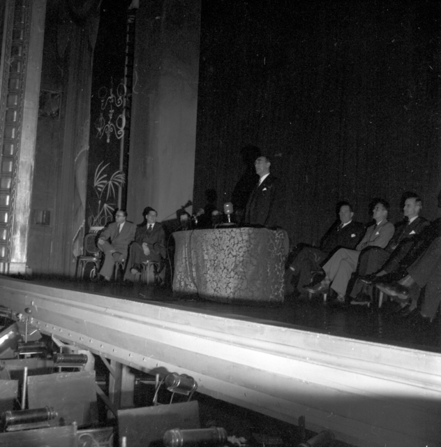 [Ambassador Draper's Reception, May 5th, 1952]