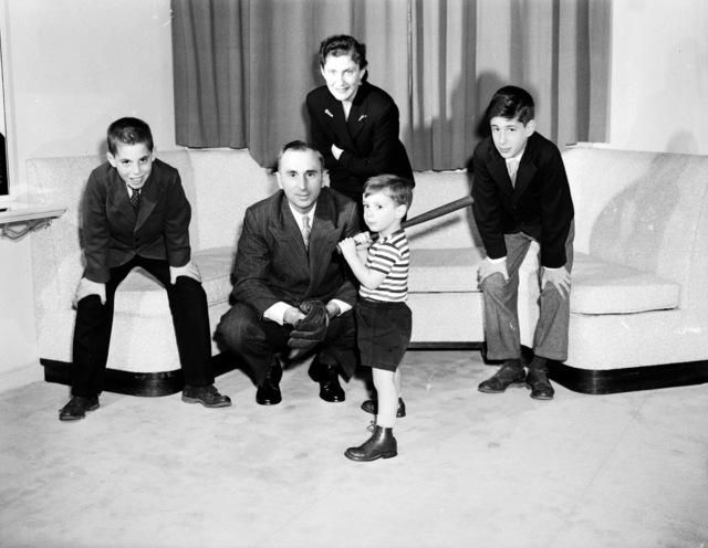 [Ambassador Katz and His Family]