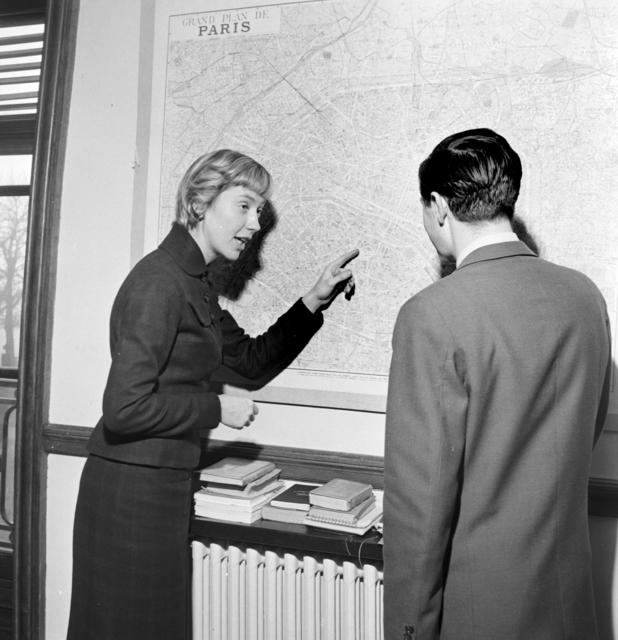 [American Girl, Secretary in Paris]