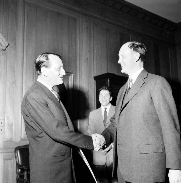 [Andre Malraux, Ambassador Dillon]