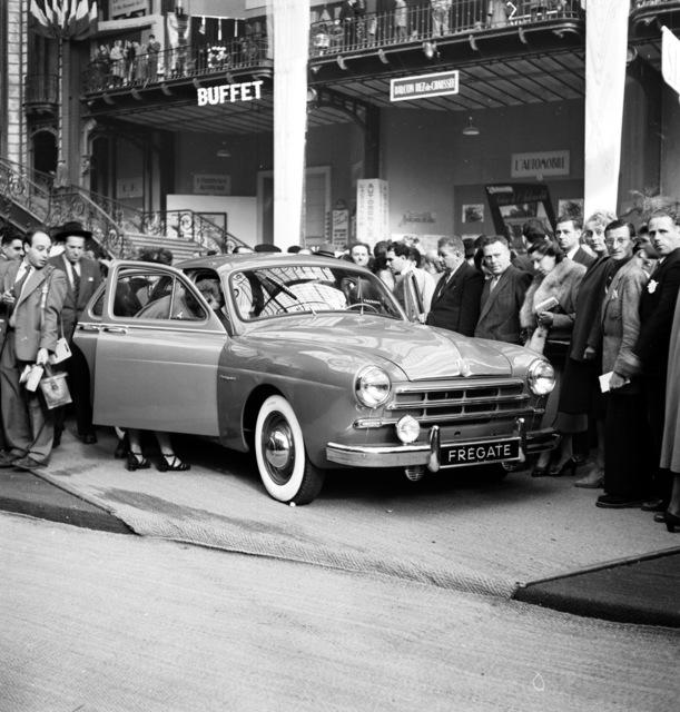 [Automobile Show, Paaris 1951]