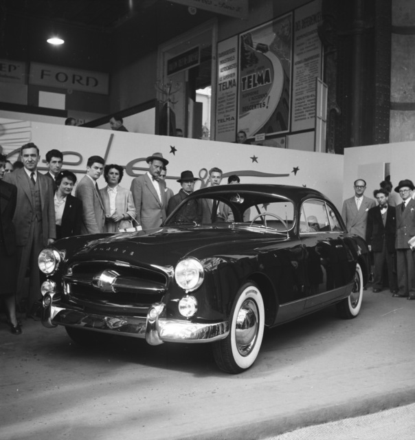 [Automobile Show, Paaris 1951]