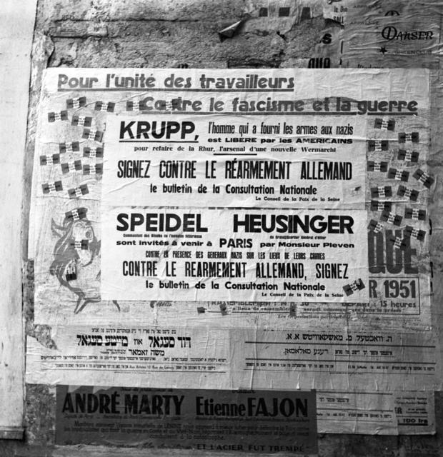 [Communist Placards in Paris]
