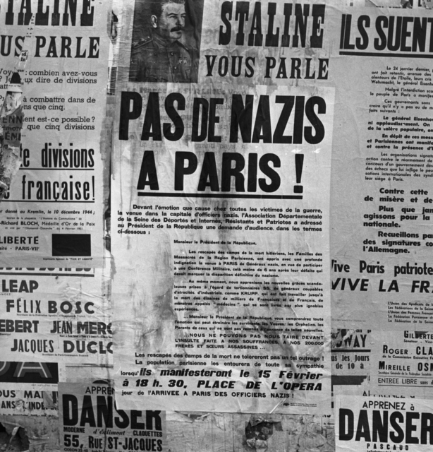 [Communist Placards in Paris]