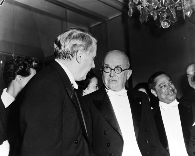 [Cultural Festival Charles Munch, President Vincent Auriol, Gaston Monnerville, Honnogger]