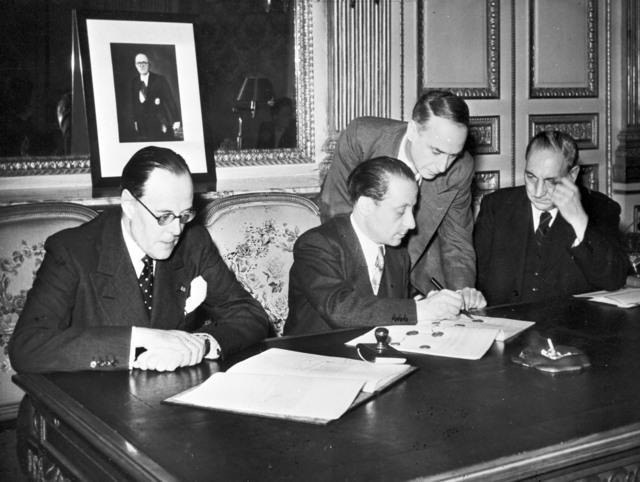 [Franco-British Convention for Mutual Health Insurance, June, 1948]