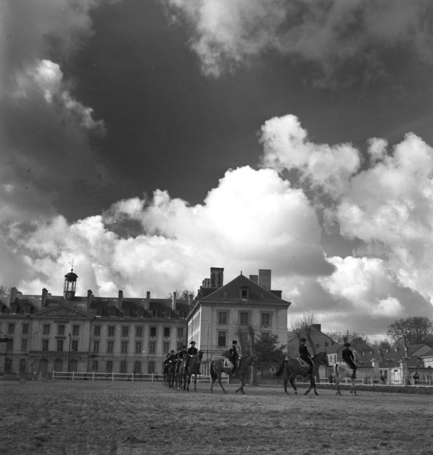 [French Cavalry Officers School]