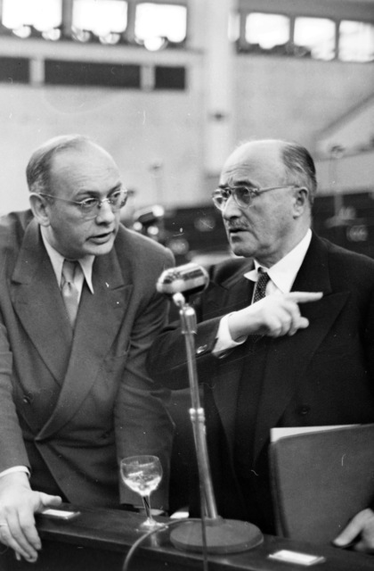 [General Pix of the Three Assemblies at Strasbourg Jan/53]