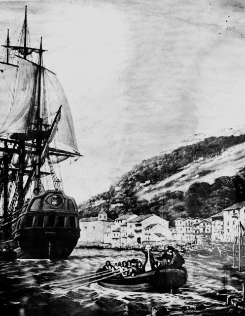 [Lafayette's Landmarks on Starting U.S. Expedition]