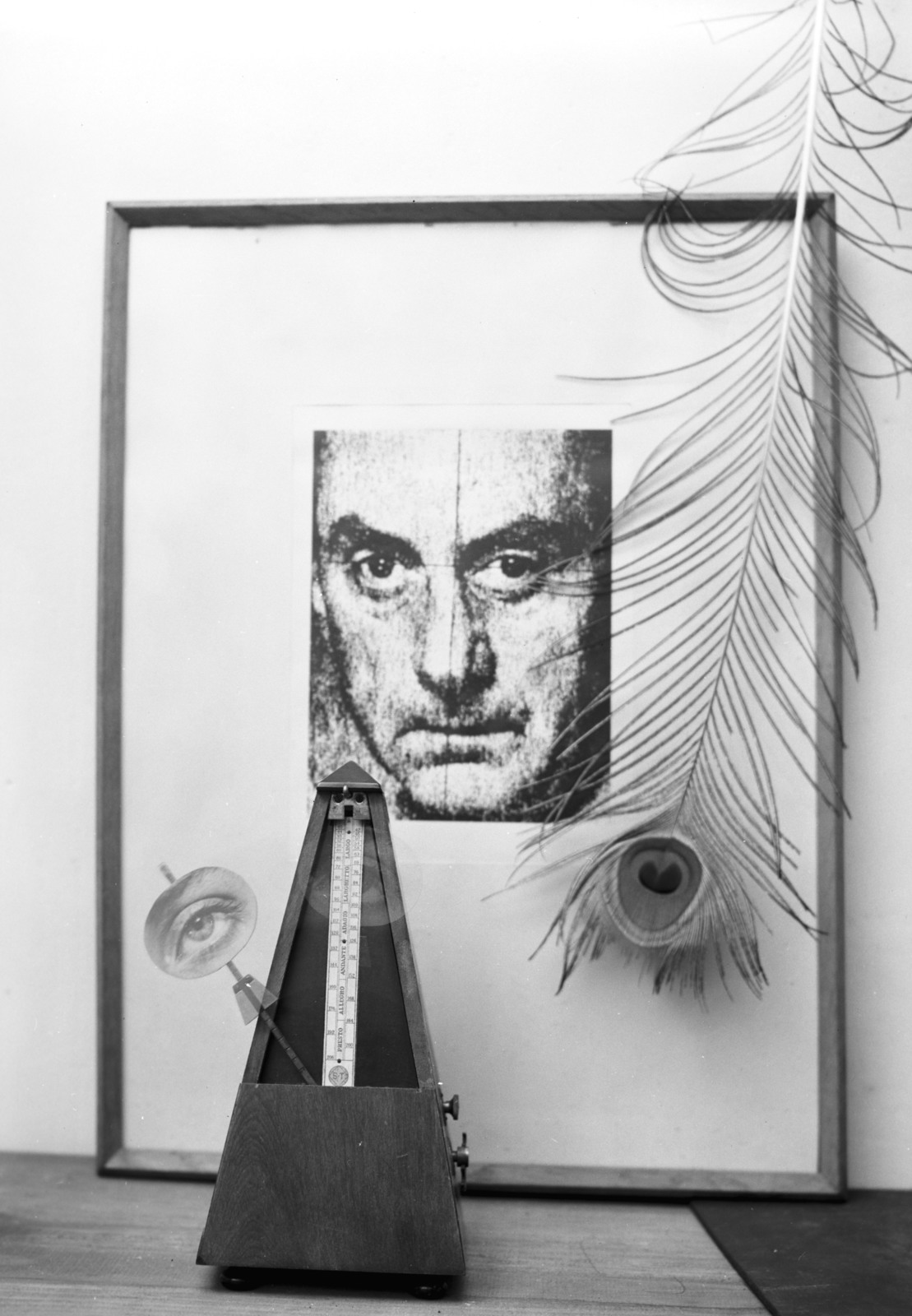 [Man Ray in His Workshop]