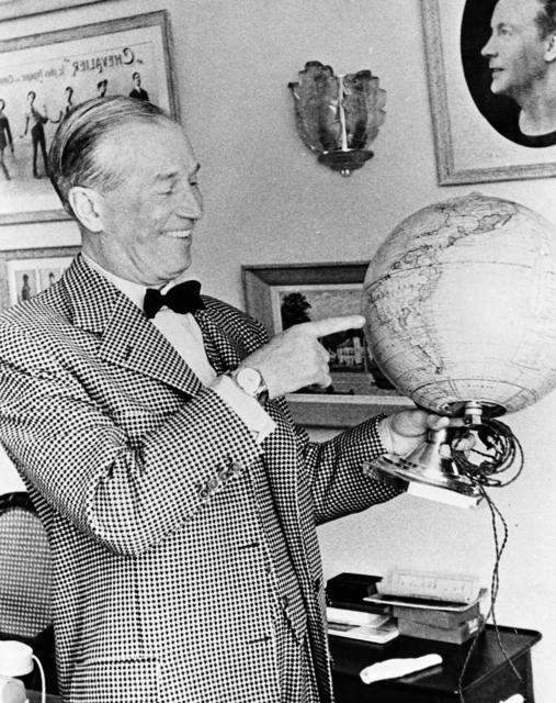 [Maurice Chevalier Interview]