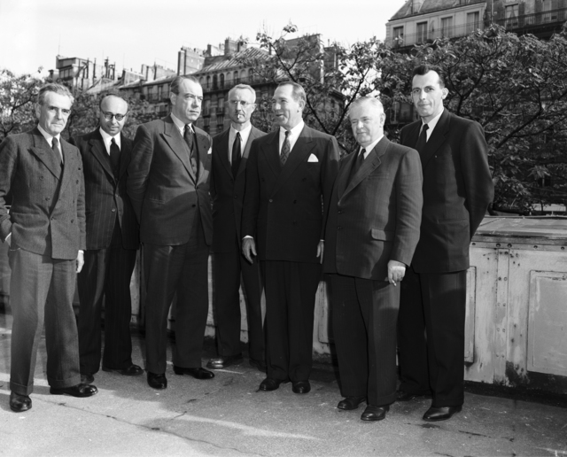 [May 7th, 1952 Meeting of the European Economic Recovery Committee of the International Federation of Agricultural Producers IFAP with Ambassador F. L. Anderson]