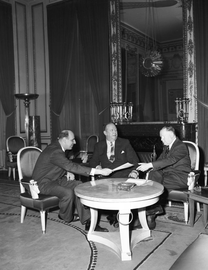 [Meeting in Ambassador Hughes' Office]