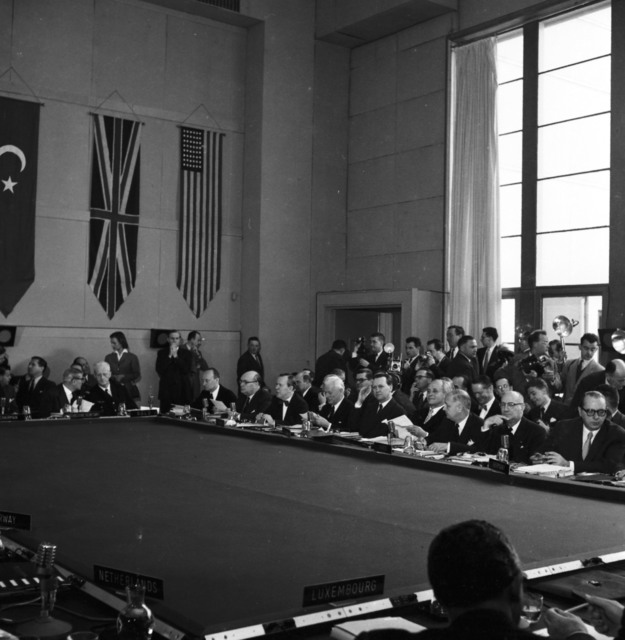 [Ministerial Session of NATO Council]