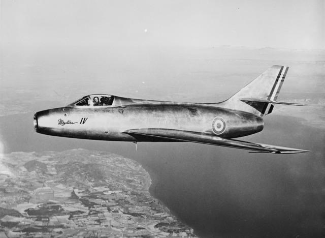 [Mystere IV (Dassault Aircraft 454)]