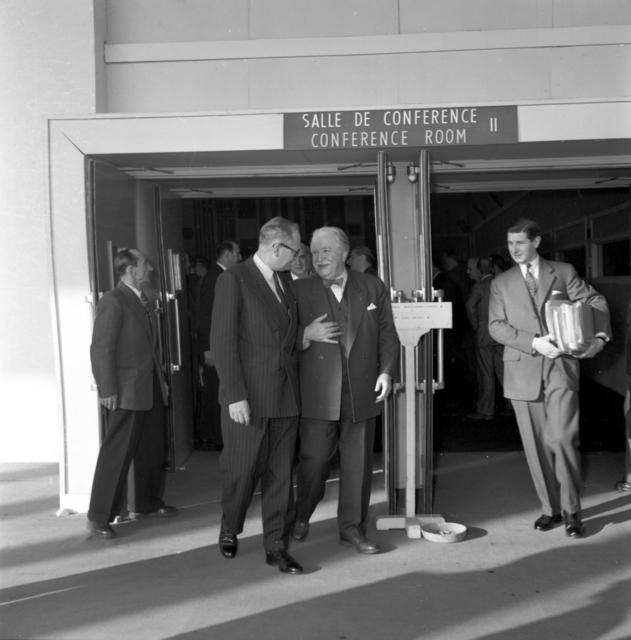 [NATO Council Meeting, December 1952]