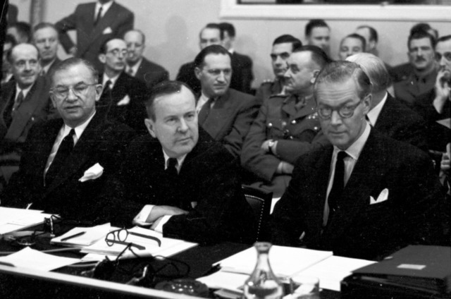 [NATO Council Meets in Paris]