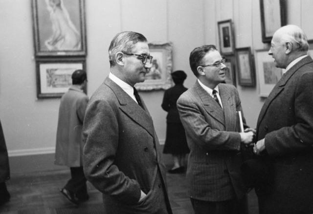"""[Orangerie Exhibit """"De David a Toulouse Lautrec""""]"""