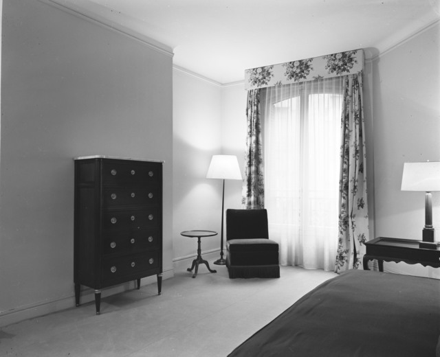 [Paris Apartment of Brigadier General Phillips]