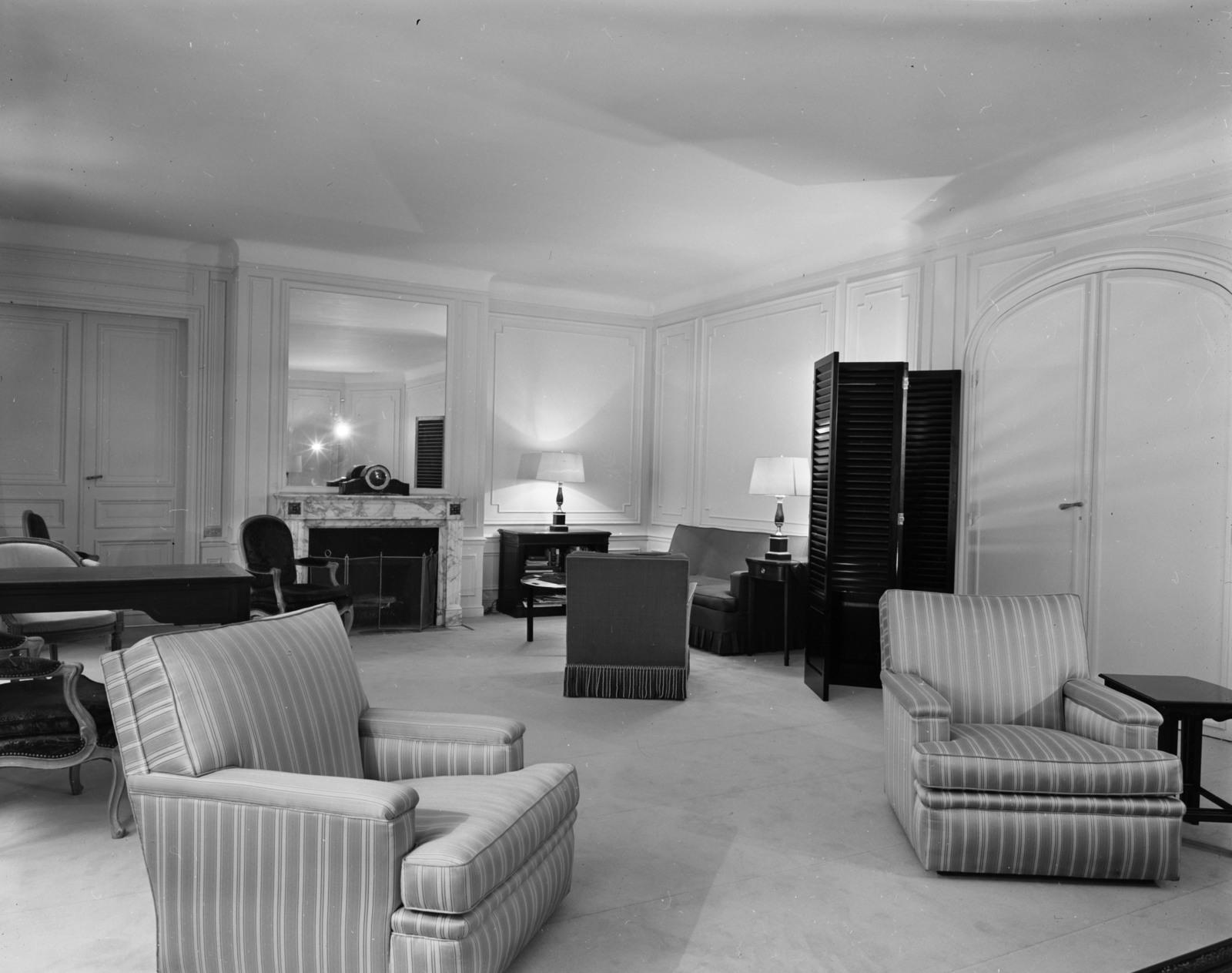 [Paris Apartment of Brigadier General Phillips]