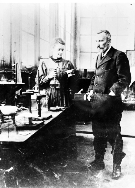 [Pierre and Marie Curie]