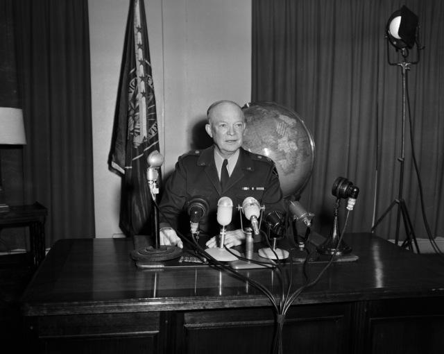 [SHAPE Celebrates 2nd Anniversary Eisenhower's Speech]