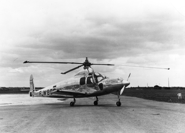 [SO-1310 Farfadet, Convertible Helicopter]