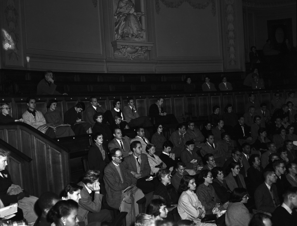 [Sorbonne, Raymond Aron, Lecture to Fulbright Students]
