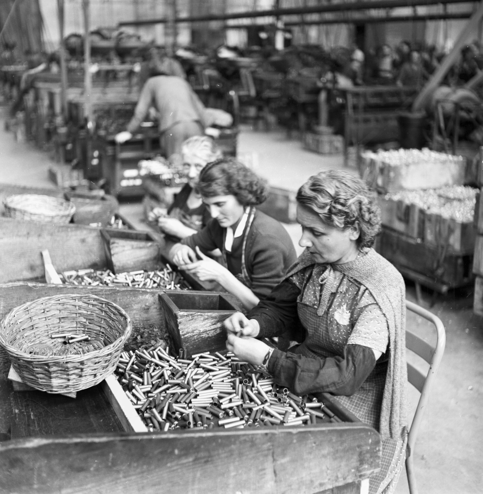 [Steel Replaces Copper in Ammunition - Cartoucherie National de Valence, Rhone River]