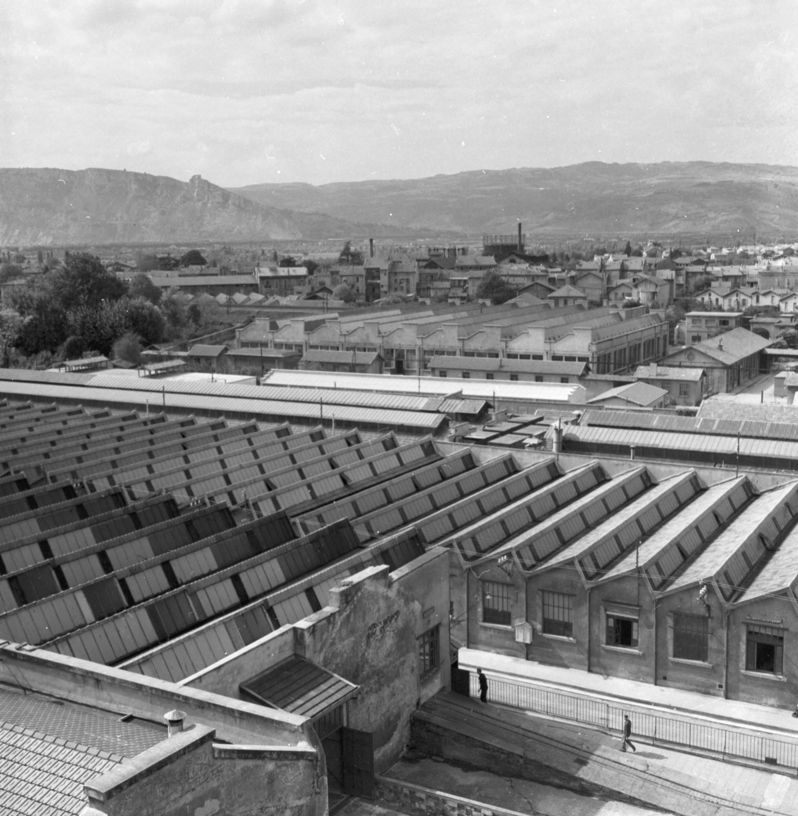[Steel Replaces Copper in Ammunition - Cartoucherie National de Valence, Rhone River]