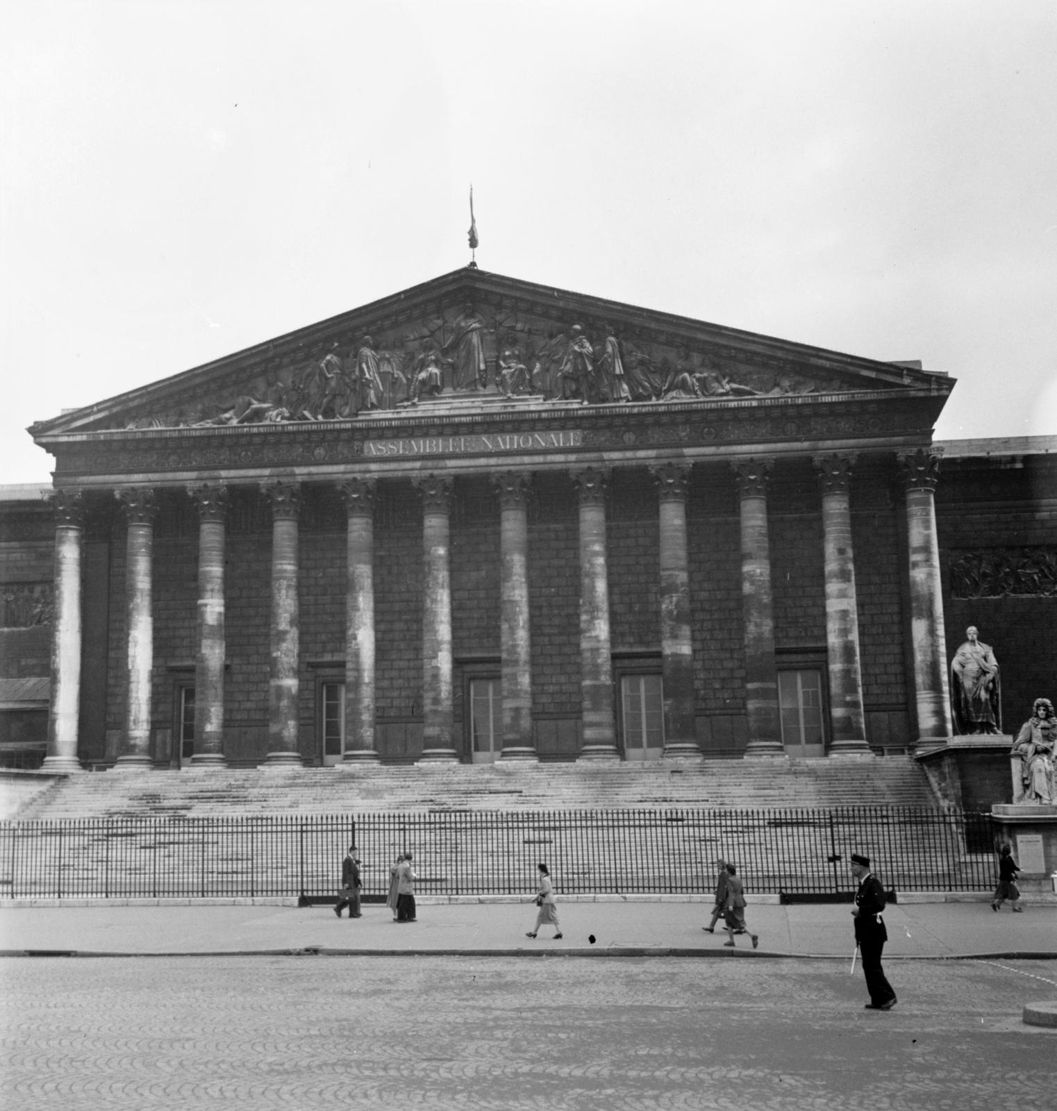 [Views of Paris - The Palais Bourbon]