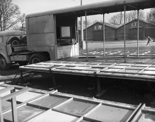 [Vincennes, NATO Exhibit Trucks]