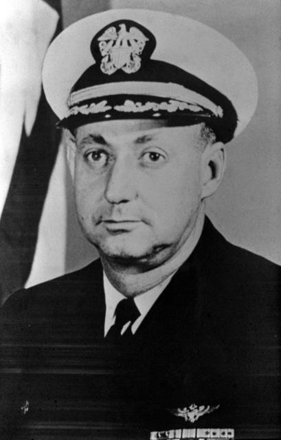 CAPT. William H. Livingston, USN (covered) CO, USS RANGER (CV-61), 1968-1969
