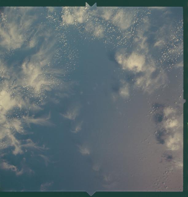 AS06-02-0876 - Apollo 6 - Apollo 6 Mission Image - Atlantic Ocean up to coast of Mauritania